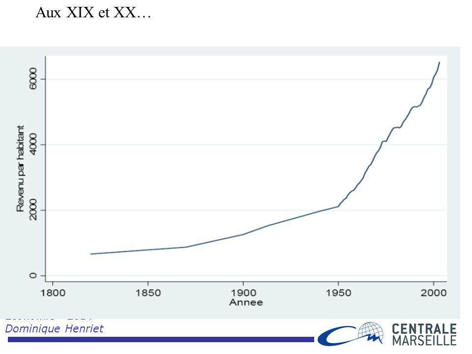 Economie 2014 Dominique Henriet Aux XIX et XX…