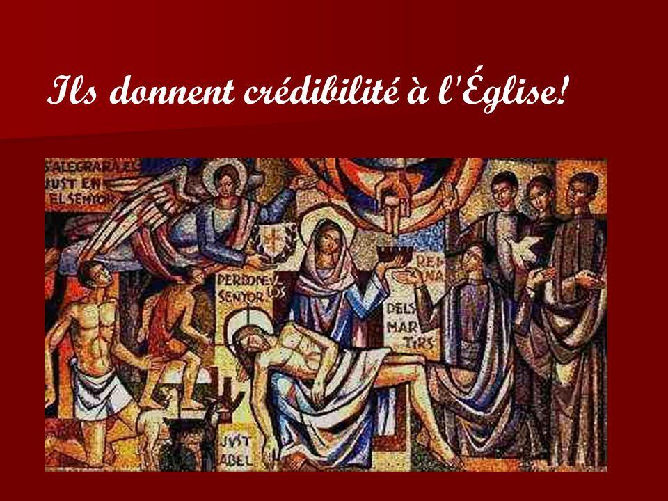 Les martyrs sont nécessaires -Comme « il était nécessaire que le Fils de lhomme meurt » - pour démontrer que l évangélisation, la lutte et lengagement de l Église ne reste pas sur des simples paroles.