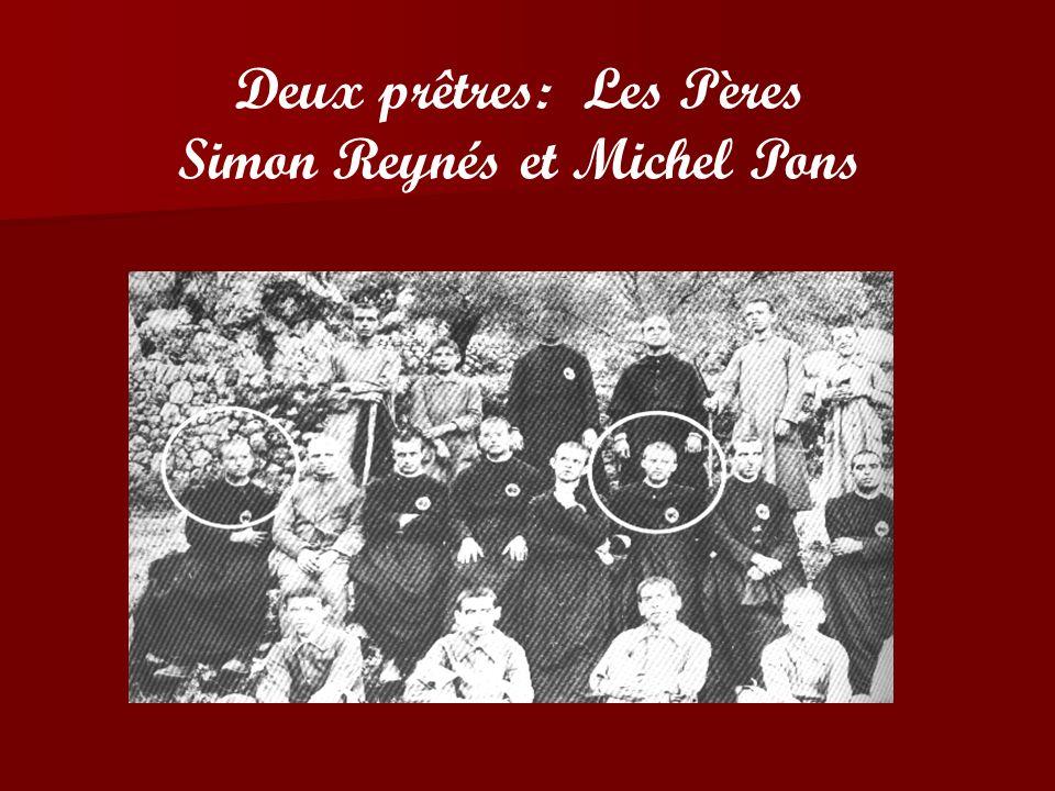 Quatre Religieux Missionnaires des Sacrés Cœurs - entre autres victimes - sont tombés sous les coups de balles dans cette folie collective que fut la guerre civile espagnole de 1936.