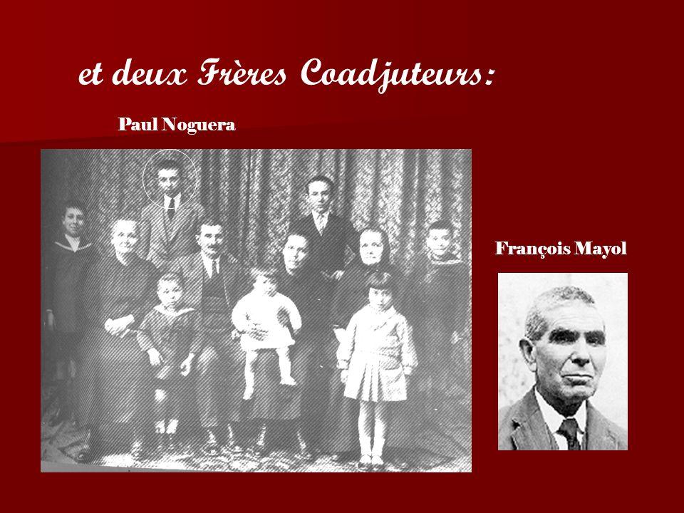 Deux prêtres: Les Pères Simon Reynés et Michel Pons
