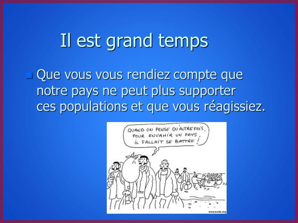 Etonnez-vous donc de l'augmentation du regroupement familial !!! n Ils sont outrés de voir que l'on continue à verser des retraites à des Algériens mo