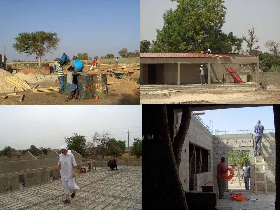 Avec lappui des donateurs privés occidentaux, un Nouveau CREN dune capacité plus importante est construit sur un terrain de deux hectares cédé par la Communauté Rurale de Saré Coly Salé