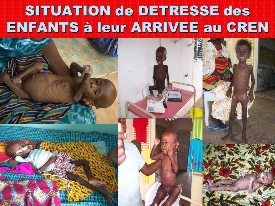 MISSION du CREN « Servir et aimer tout enfant surtout lorsquil est miné par la maladie et la souffrance de la malnutrition, marginalisé ou méprisé méprisé »