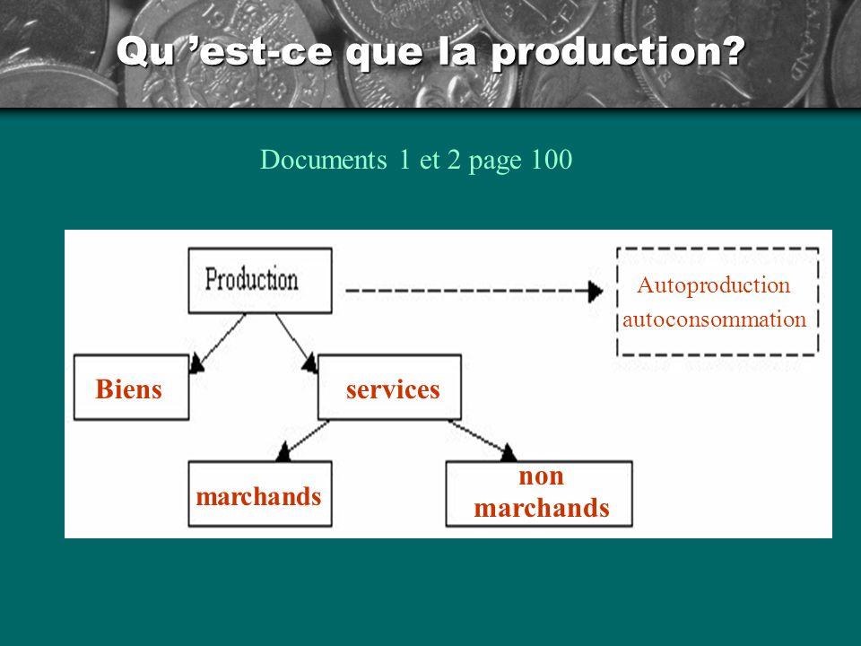 Qu est-ce que la production.