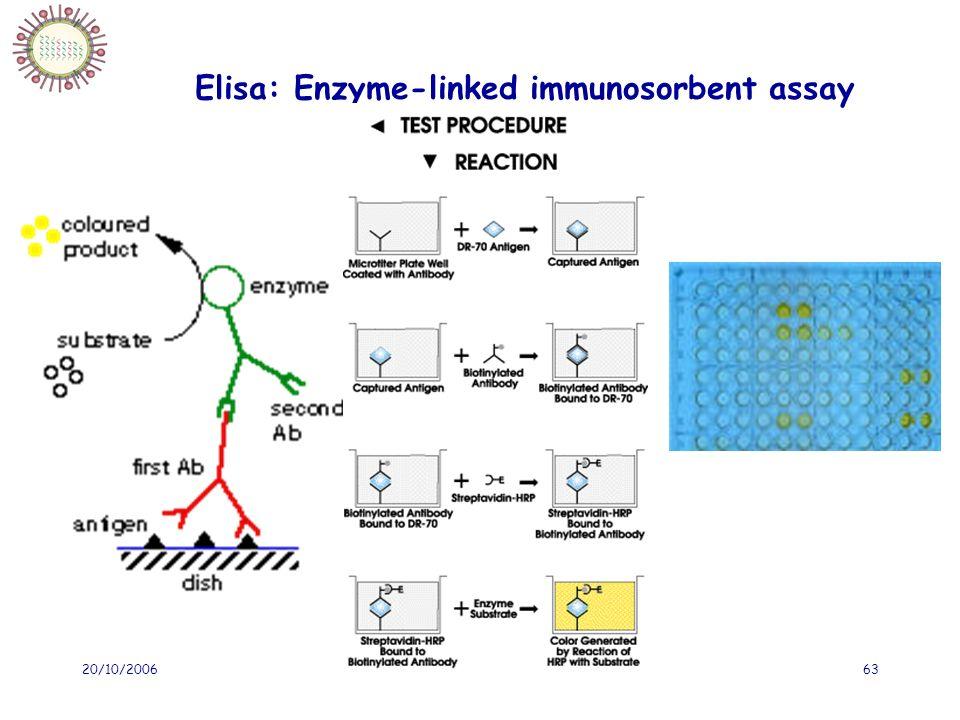 20/10/2006IFSI Sud63 Elisa: Enzyme-linked immunosorbent assay