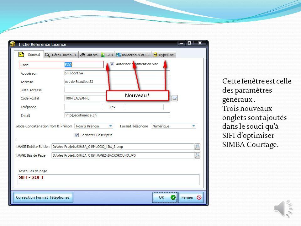 SIFI SOFT Système Ingénierie & Fonction Informatique 38 rue Servan 75 011 PARIS Email : contact@sifi-soft.fr