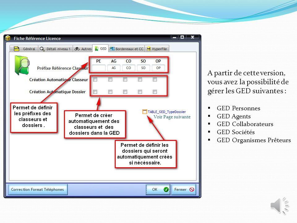 Cette fenêtre est celle des paramètres généraux. Trois nouveaux onglets sont ajoutés dans le souci quà SIFI doptimiser SIMBA Courtage.