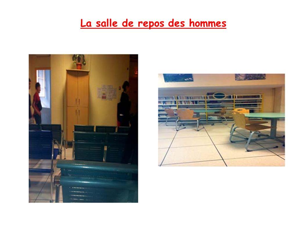 La salle de repos des hommes