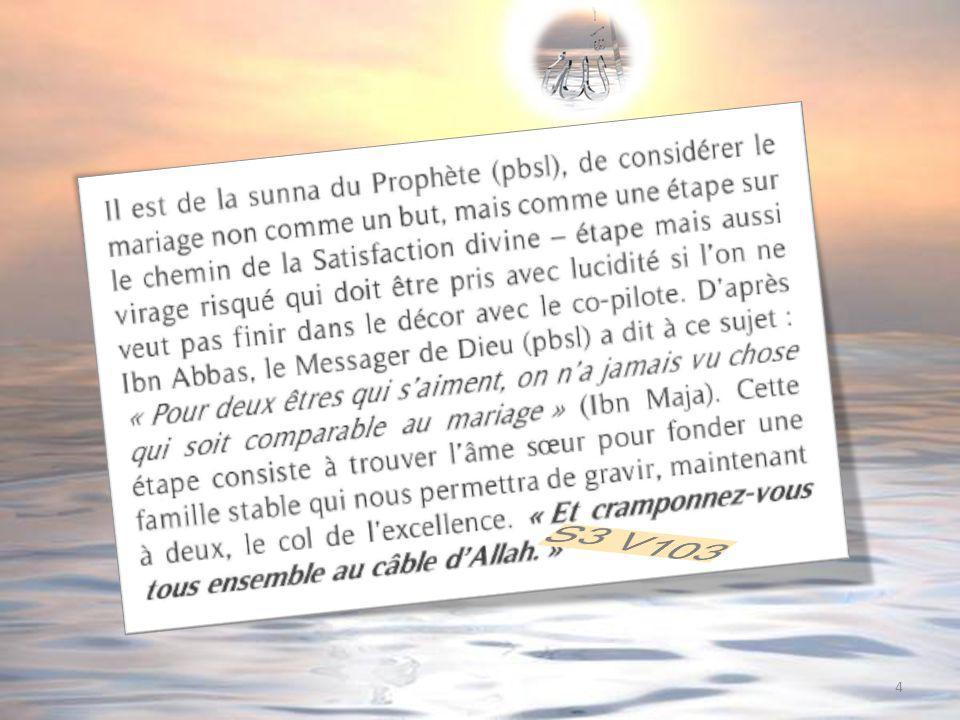 85 Dans un hadith rapporté par Mouslim, un compagnon demande au prophète : « Peux-tu mindiquer le bien afin que je le fasse .