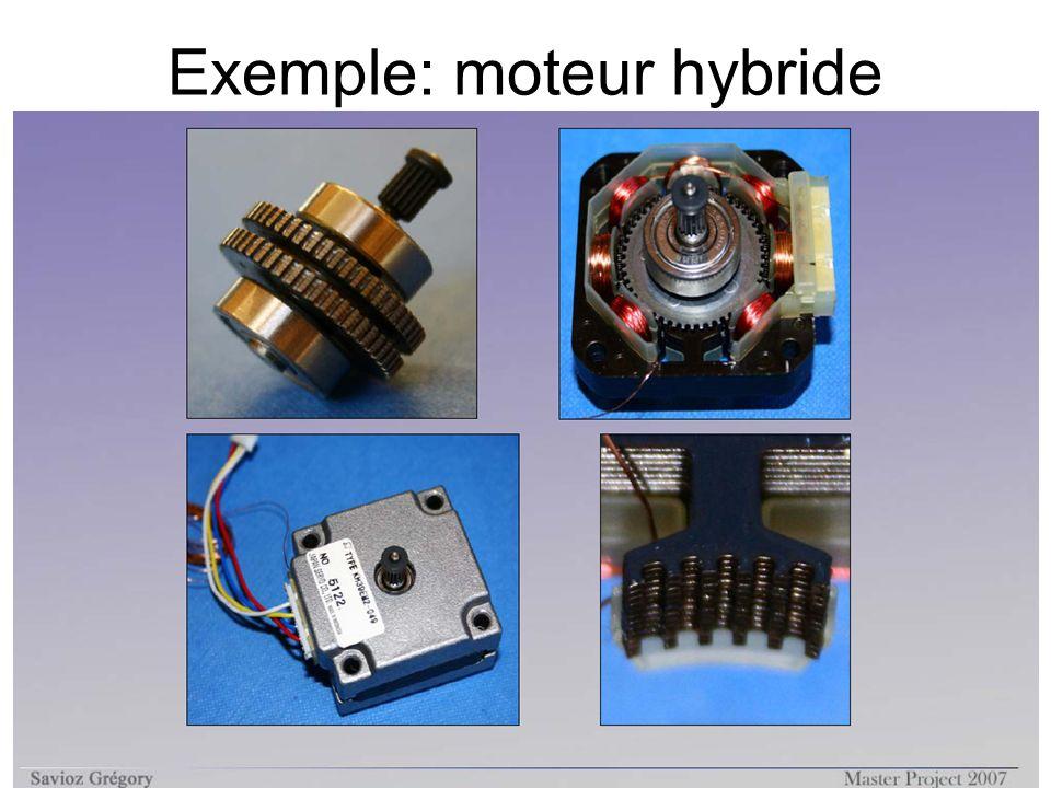 Exemple: moteur hybride