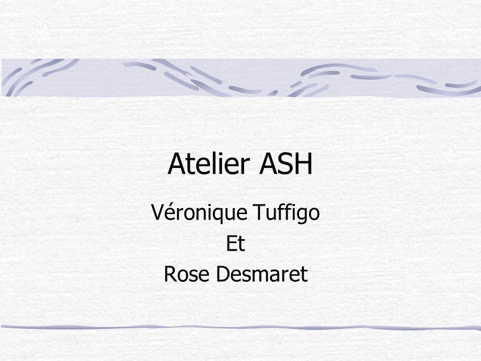 Atelier ASH Véronique Tuffigo Et Rose Desmaret
