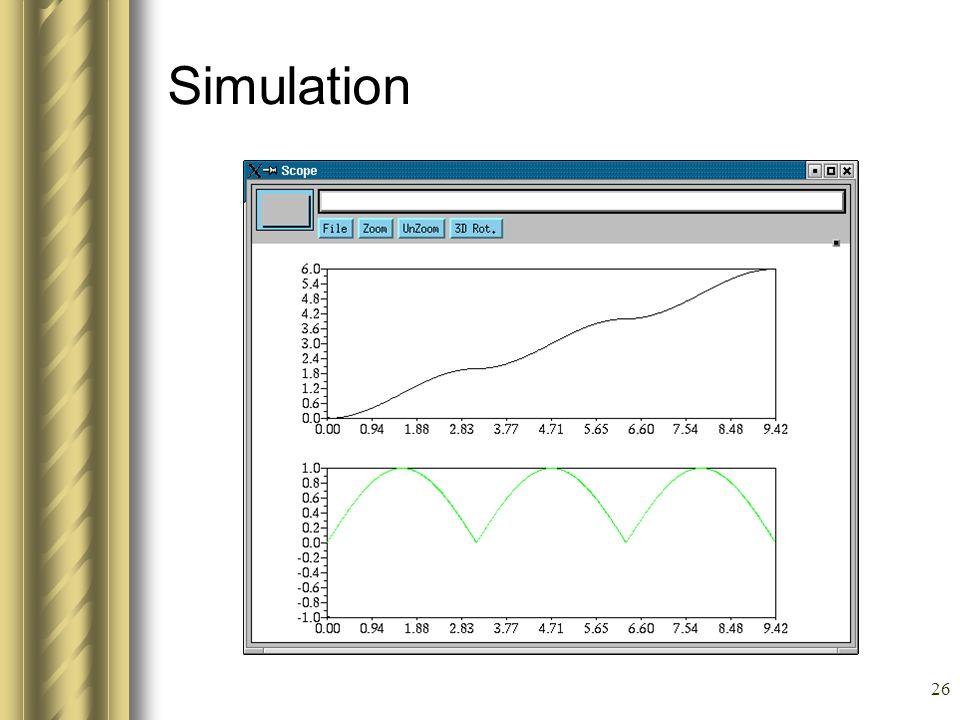 26 Simulation