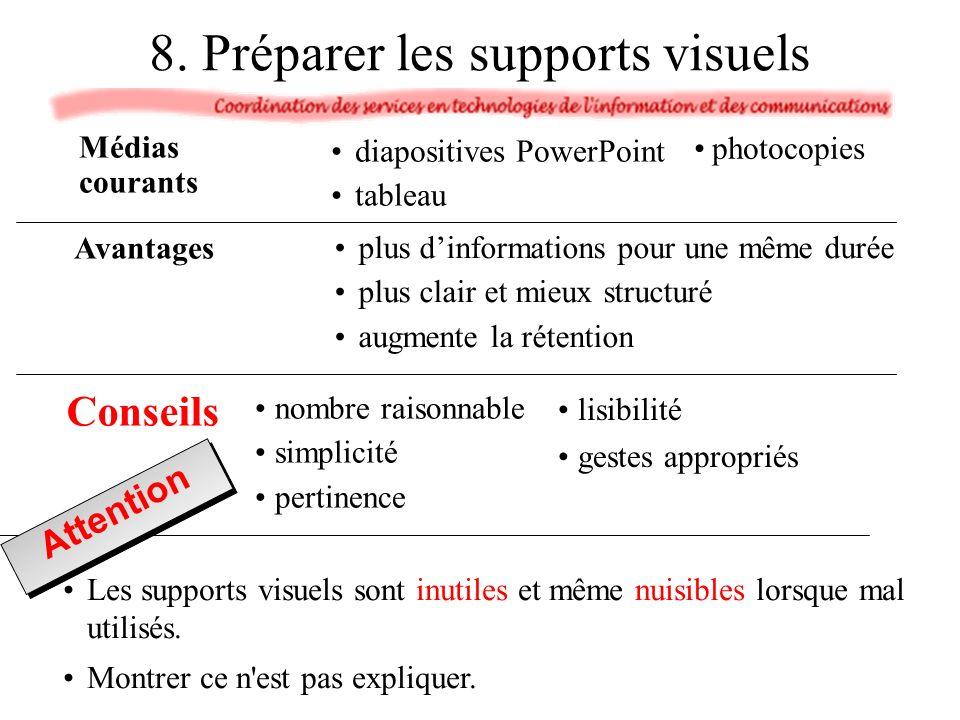 Les supports visuels sont inutiles et même nuisibles lorsque mal utilisés.