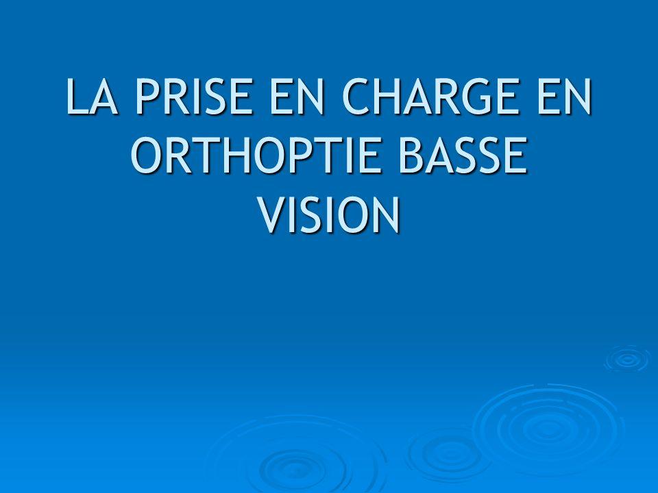 Son but Par lorthoptie « Basse-Vision », on touche surtout à des notions « déducation visuelle » IL NE SAGIT PAS DE VOIR COMME AVANT MAIS DE VOIR AUTREMENT.
