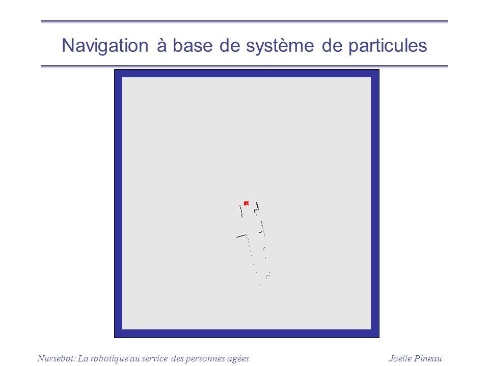 Joelle Pineau Nursebot: La robotique au service des personnes agées Navigation à base de système de particules