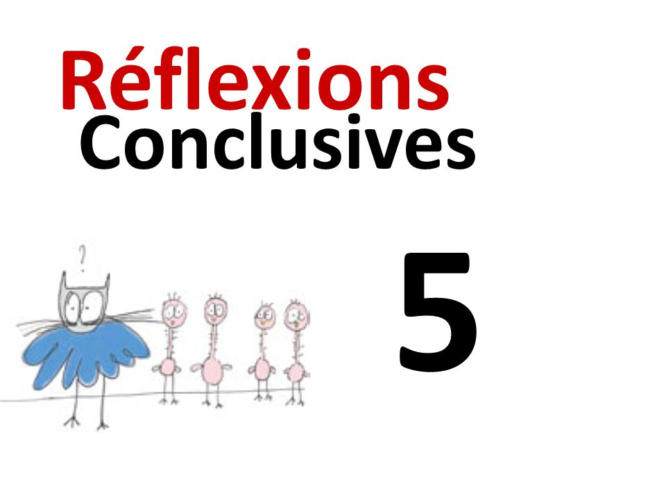 5 Réflexions Conclusives