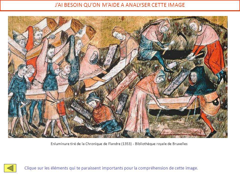 JAI BESOIN QUON MAIDE A ANALYSER CETTE IMAGE Clique sur les éléments qui te paraissent importants pour la compréhension de cette image. Enluminure tir