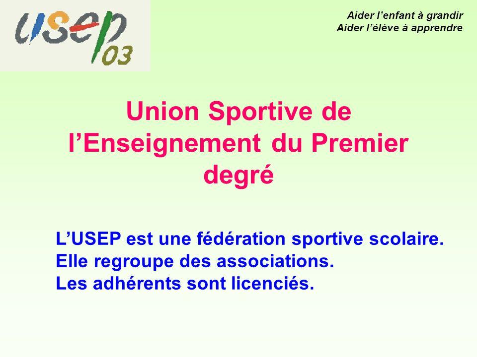 Union Sportive de lEnseignement du Premier degré LUSEP est une fédération sportive scolaire.