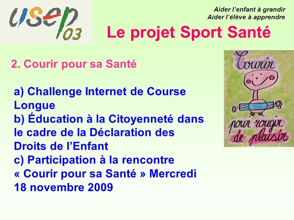 Le projet Sport Santé 2.