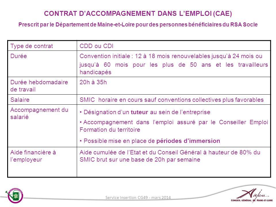 Type de contratCDD ou CDI DuréeConvention initiale : 12 à 18 mois renouvelables jusquà 24 mois ou jusquà 60 mois pour les plus de 50 ans et les travai