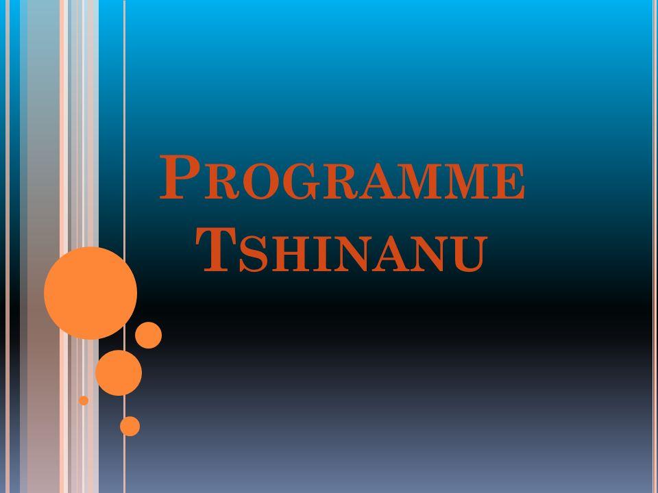 P ROGRAMME T SHINANU