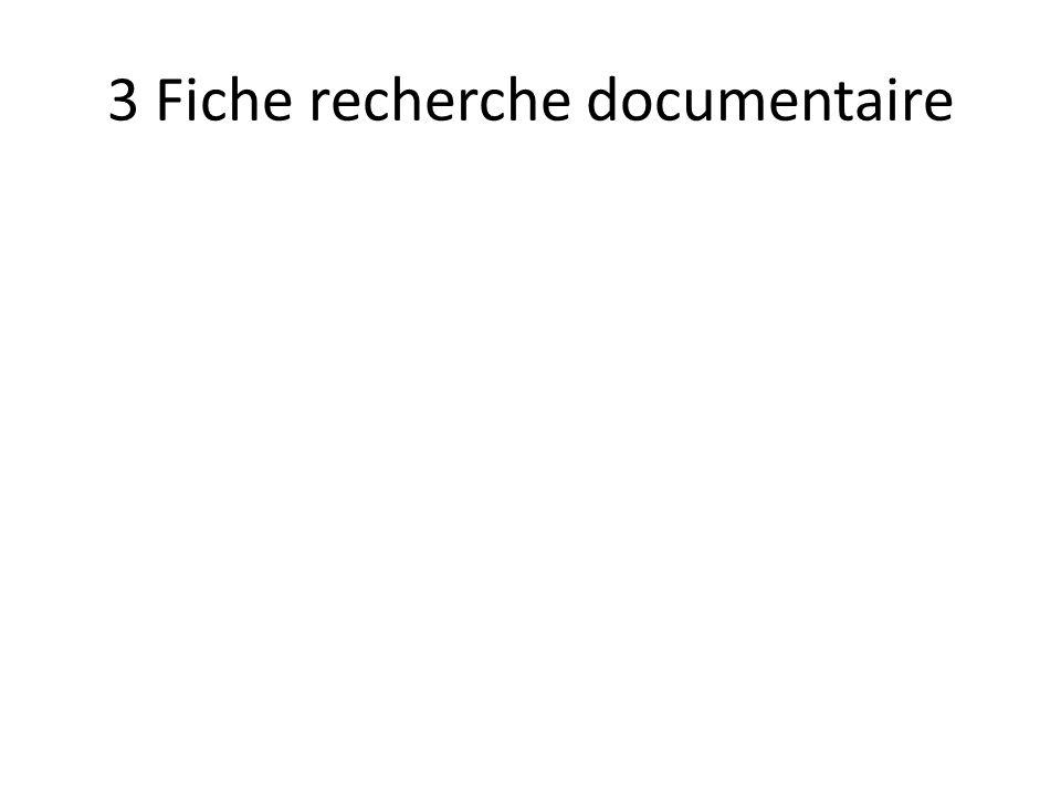 4. Analyser vos documents 1 Fiche de validation 2. Fiche d analyse documentaire