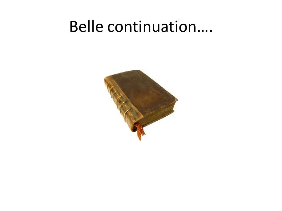 Belle continuation….