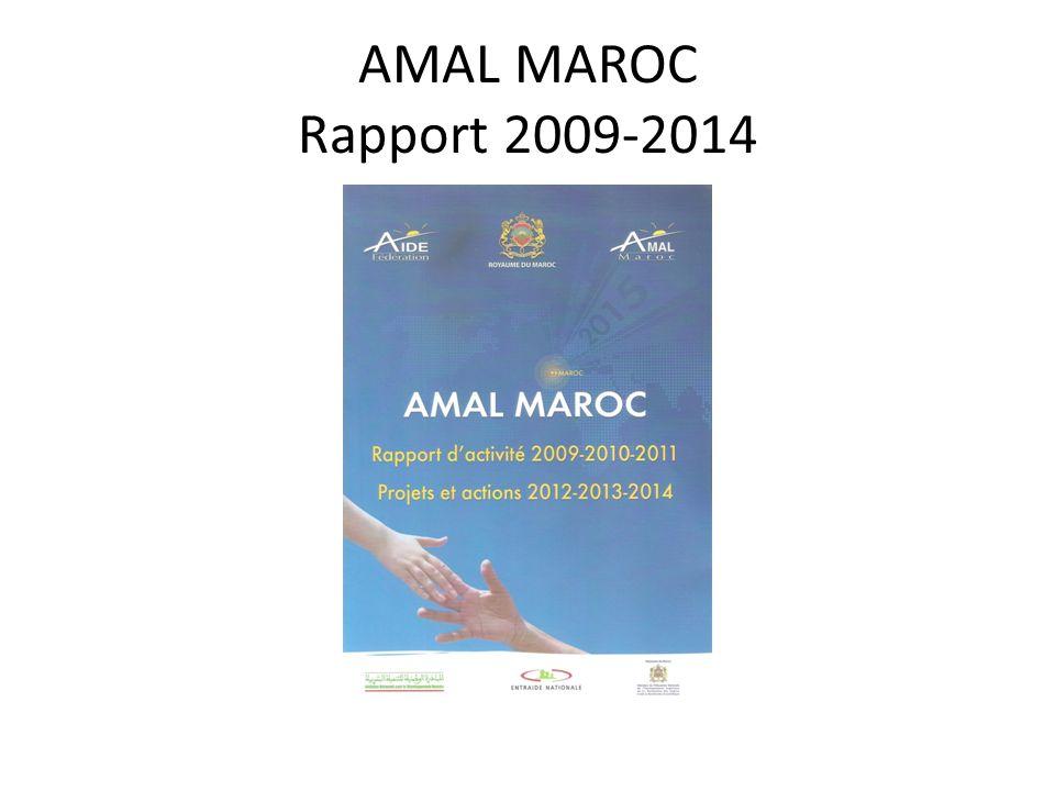 AMAL MAROC Rapport 2009-2014