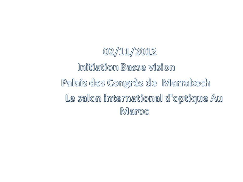 Méthode plus simple: Dépistage et grossissement : On place sur lunette dessai la C.O en VL et une addition de + 3,00 ( avec Parinaud ) P3P4P5P6P8P10P14P20P28 0,50,40,30,250,20,140,10,070,05 ---1,5x2x2,5x3x4x6x8x12x (à domicile) www.optonaf.ma/nafisopto@hotmail.fr