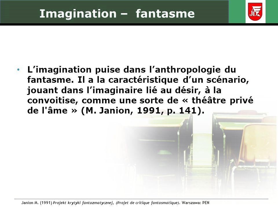 Imagination - symbolisation Pour C.G.