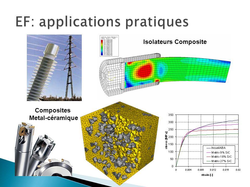 Isolateurs Composite Composites Metal-céramique