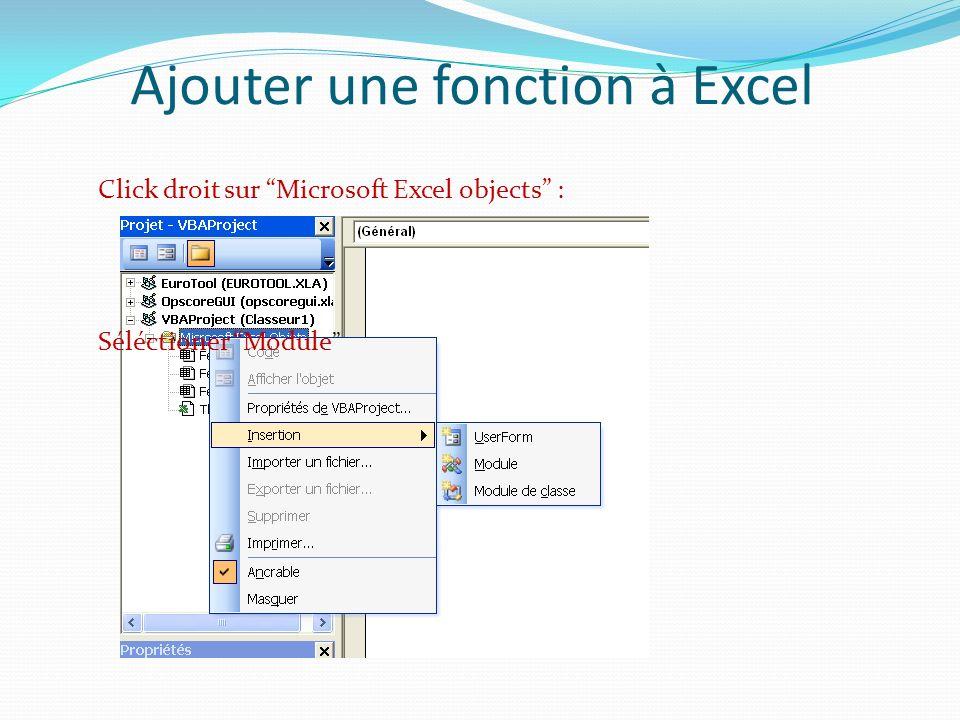 Utilisation dobjets Un objet est une variable dont le type est une classe appartenant au projet courant où à une bibliothèque.
