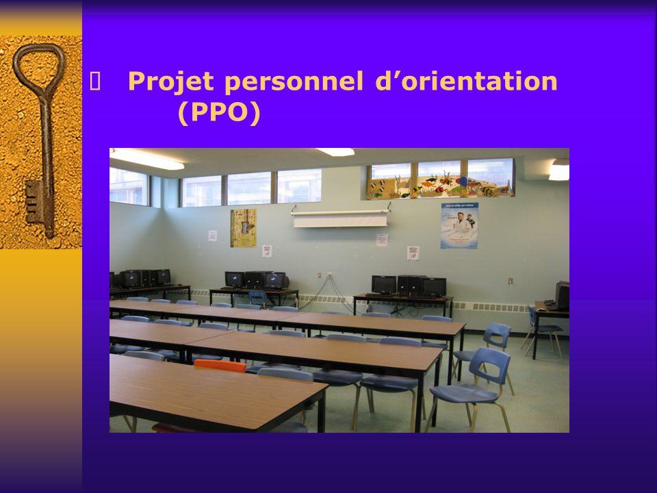 Projet personnel dorientation (PPO)
