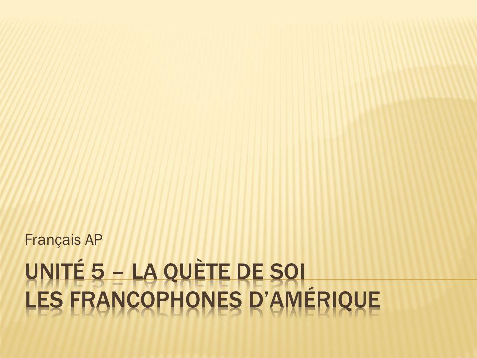 Au 17 e siècle, des Français sont venus à lest du Canada pour créer une communauté agricole.