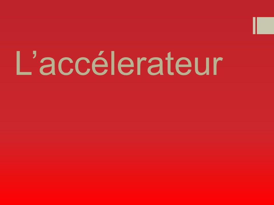 Laccélerateur