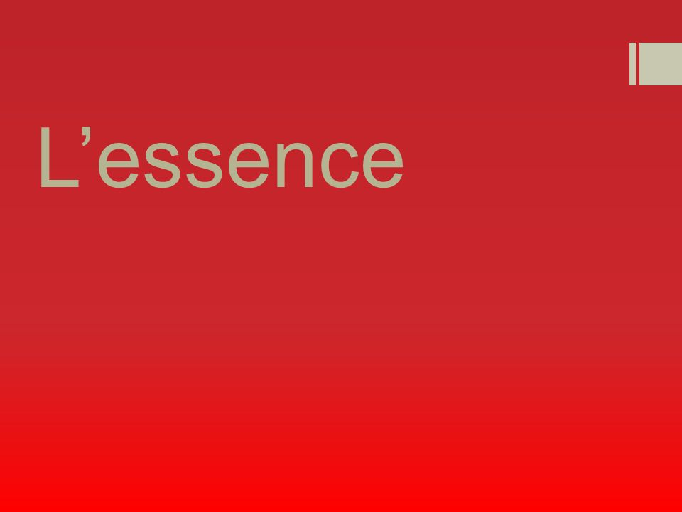 Lessence