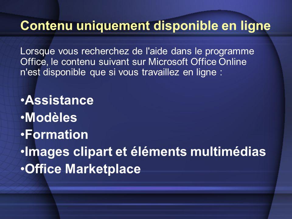 Cours de formation pour obtenir des informations sur l utilisation de programmes Office 2003.