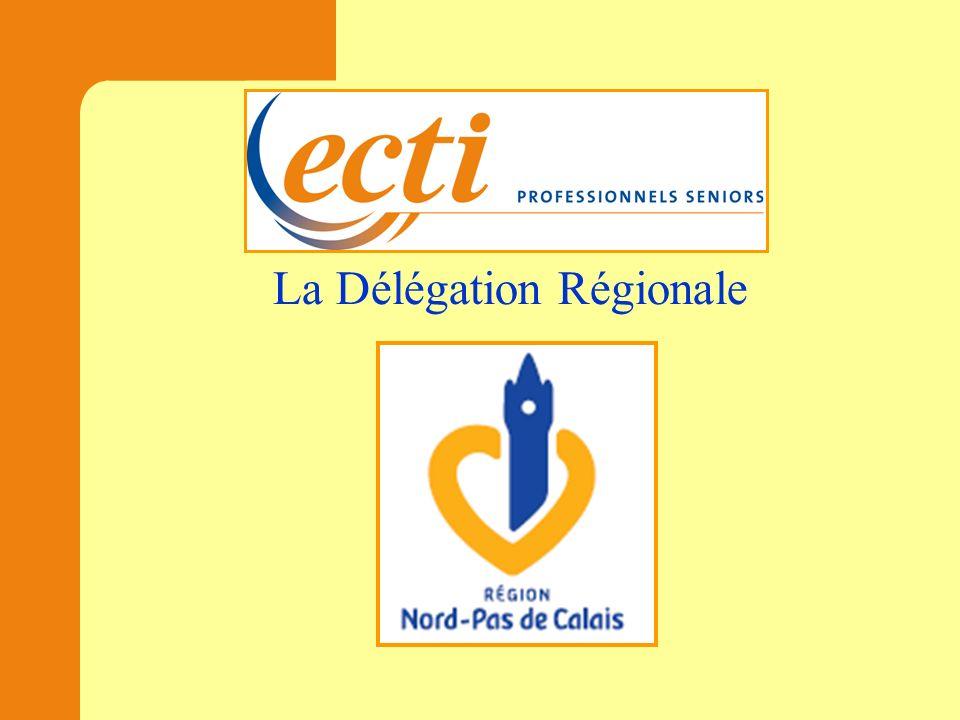 La Délégation Régionale Trois sites regroupant 98 experts actifs en 2011, dont : 59 dans la délégation départementale du Nord 33 dans la délégation départementale de la Côte d Opale 06 dans la délégation départementale de lArtois