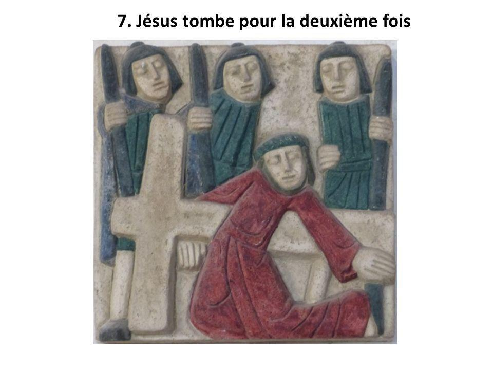 7. Jésus tombe pour la deuxième fois