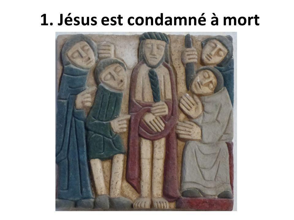 Qui aidera Jésus ? 3. Jésus tombe pour la première fois