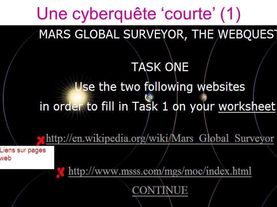 Une cyberquête courte (1)