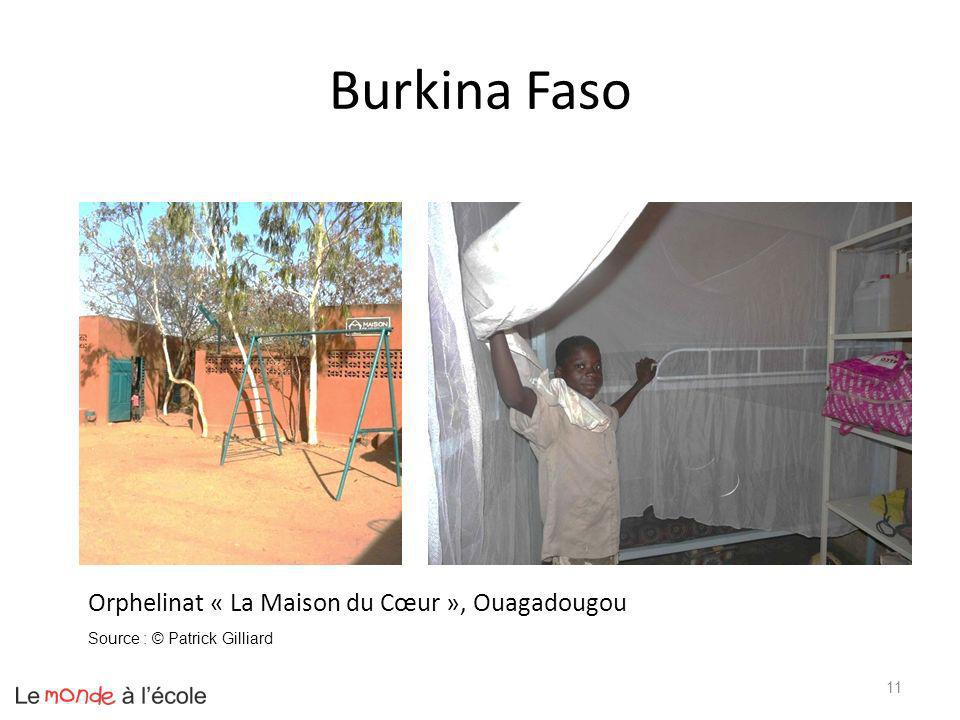 Burkina Faso 11 Orphelinat « La Maison du Cœur », Ouagadougou Source : © Patrick Gilliard