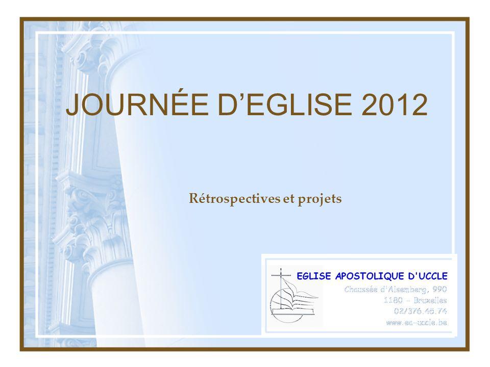 JOURNÉE DEGLISE 2012 Rétrospectives et projets