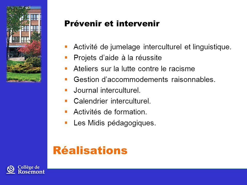 Prévenir et intervenir Activité de jumelage interculturel et linguistique.
