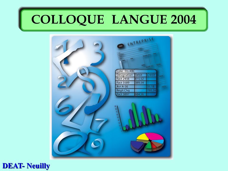 DEAT- Neuilly COLLOQUE LANGUE 2004