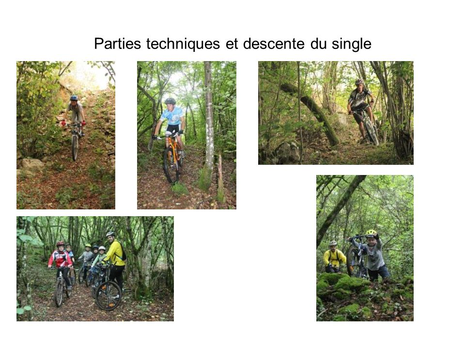 Parties techniques et descente du single