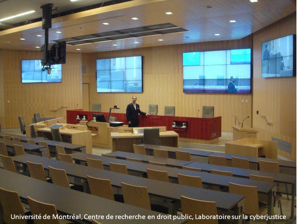 Université de Montréal, Centre de recherche en droit public, Laboratoire sur la cyberjustice