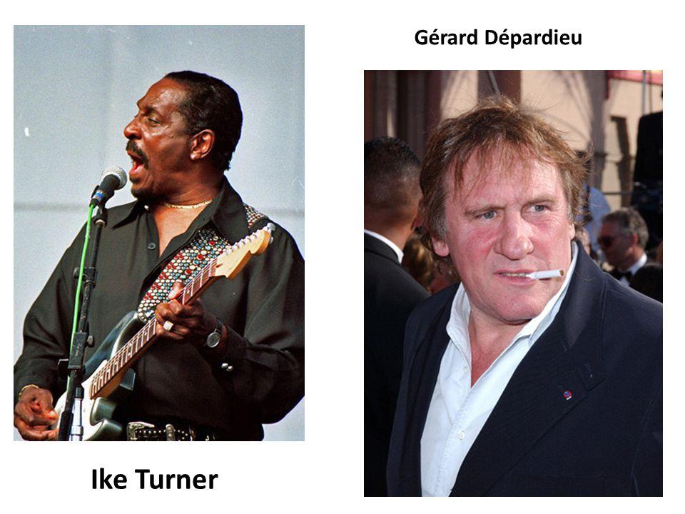 Ike Turner Gérard Dépardieu
