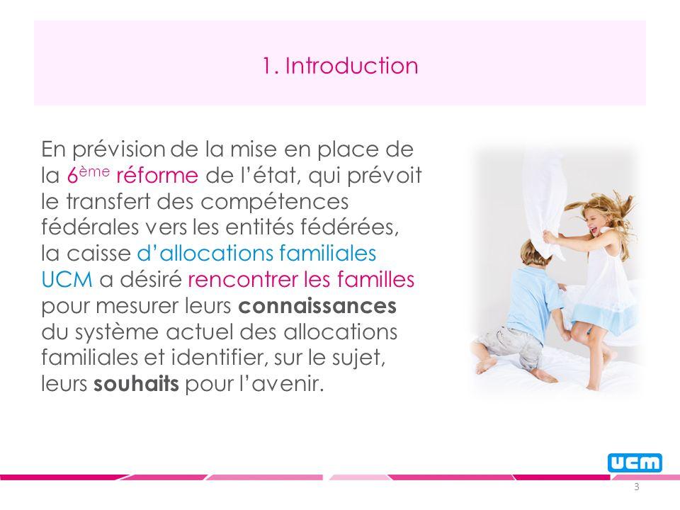 3 1. Introduction En prévision de la mise en place de la 6 ème réforme de létat, qui prévoit le transfert des compétences fédérales vers les entités f