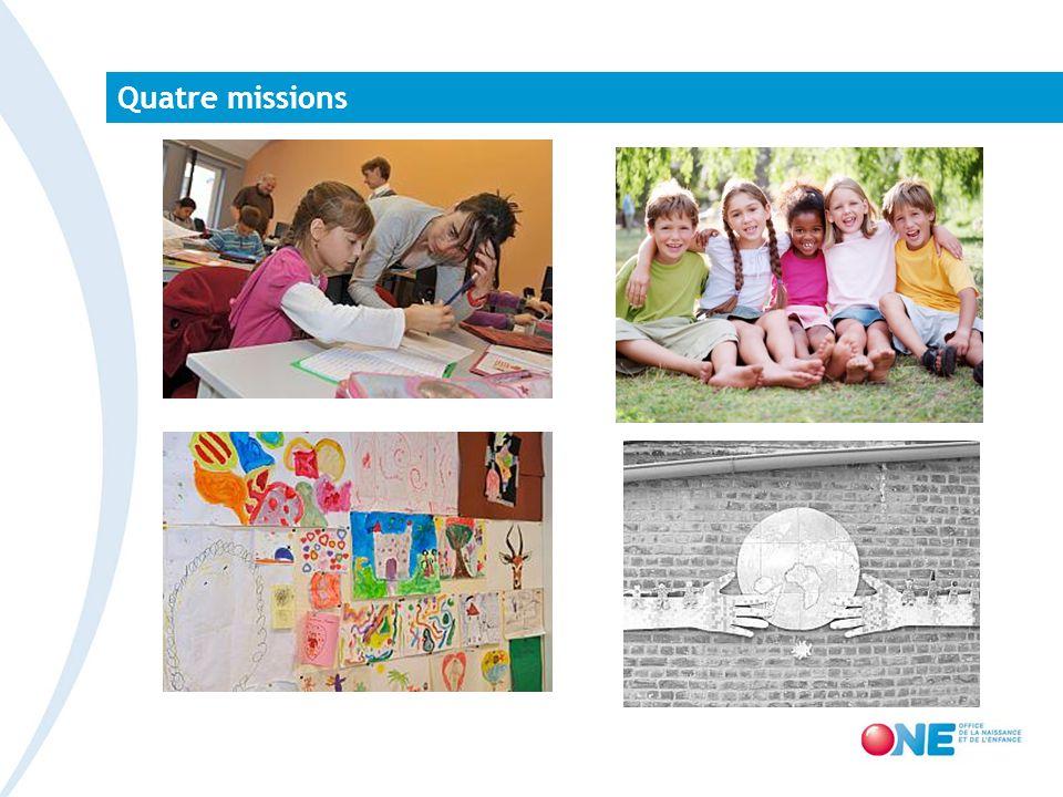 Quatre missions